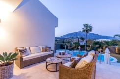 Golf Valley, Nueva Andalucia villa for sale