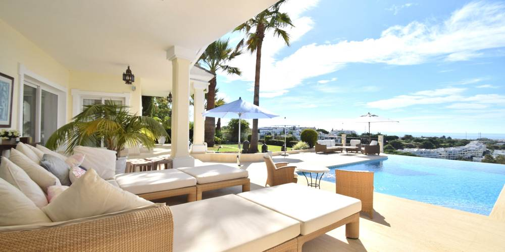 Luxury holiday villas for rent nueva andalucia marbella puerto banus